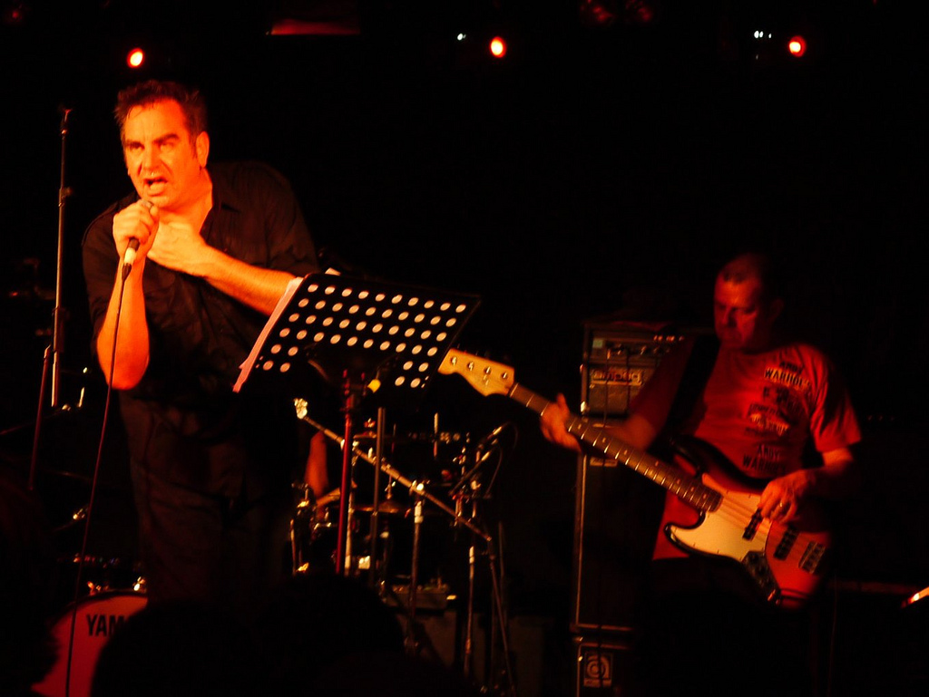 The Pop Group at the Garage (pic: Medwyn Jones)