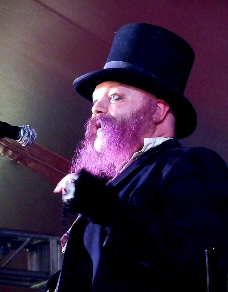 Andy Heintz of The Men That Will Not Be Blamed for Nothing at Bearded and Whiskered Theory