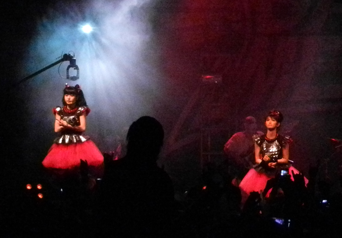 Babymetal live at The Forum  (Pic: James Sting)