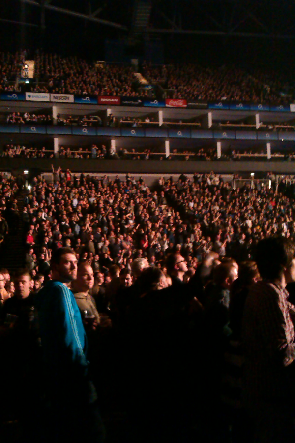 Black Sabbath audience December 2013