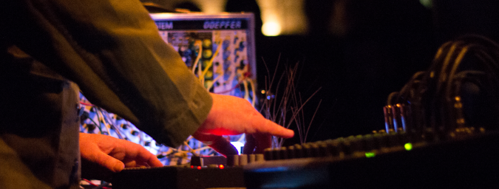 Drew McDowall live at Café OTO February 2016