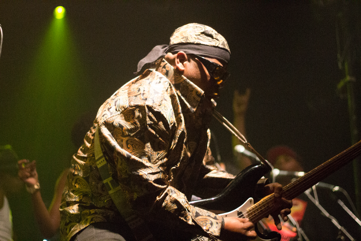 George Clinton and Funkadelic live 2015