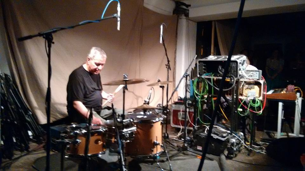 HJ Irmler and Jaki Liebezeit live at Café OTO