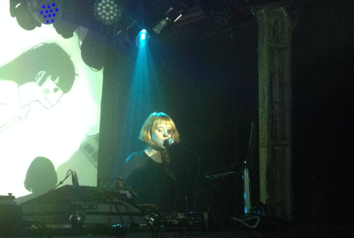 Holly Herndon live at XOYO June2015