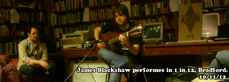 James Blackshaw gig