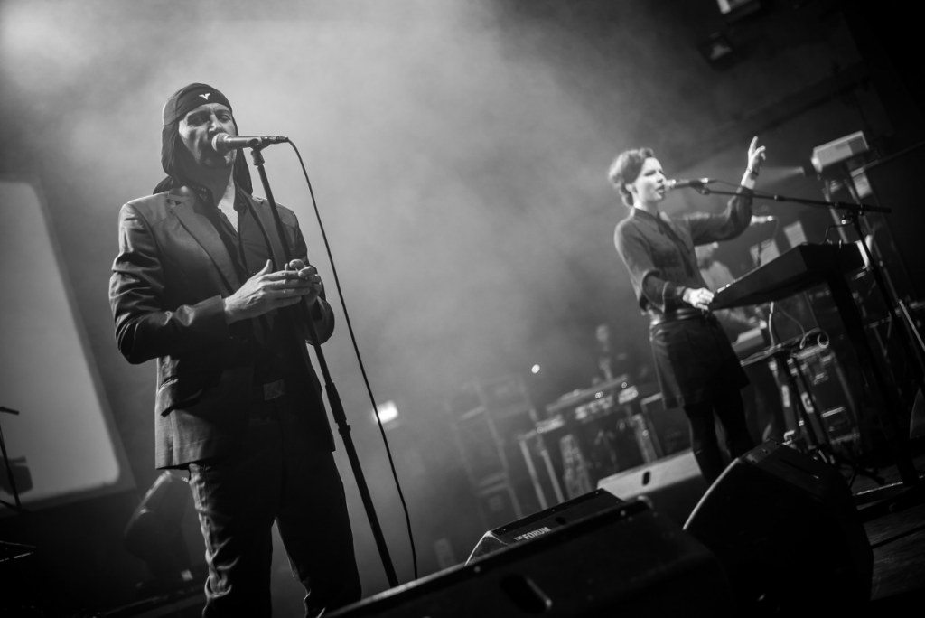 Laibach live at The Forum April 2016 (Picture: Agata Urbaniak)