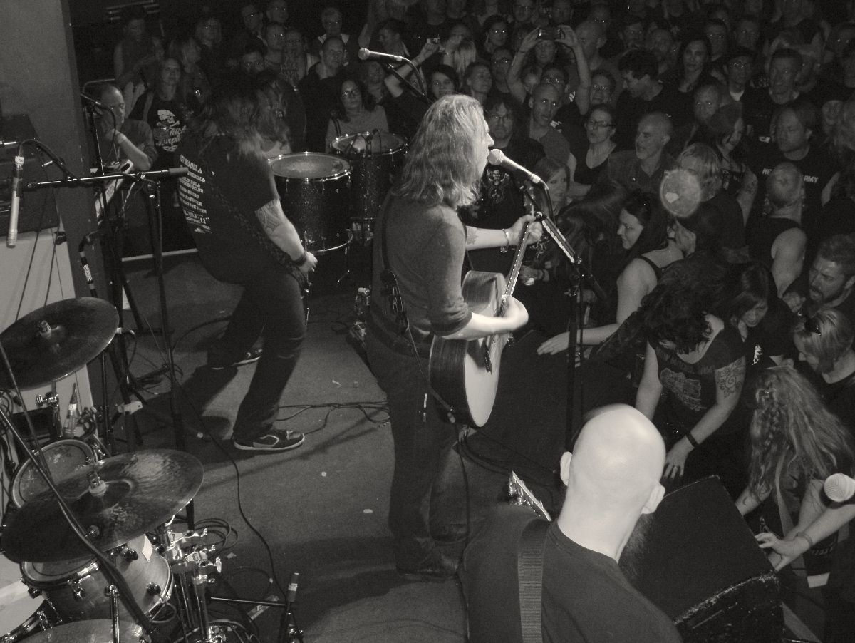 New Model Army live at Camden Rocks 2015 (Picture: Kyle Perfect)