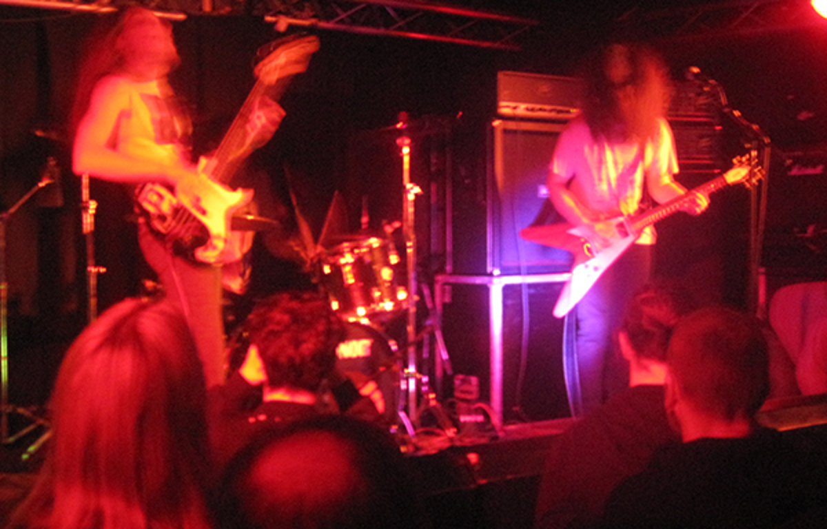 Oozing Wound live at The Exchange April 2015