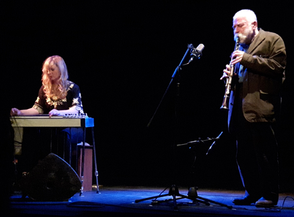 Peter Brötzmann and Heather Leigh live November 2016