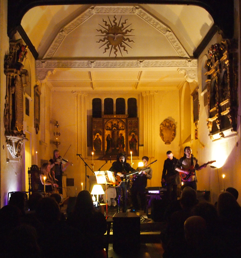 Rose McDowall live at St Pancras Old Church