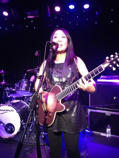 Shonen Knife live at Dingwall's May 2014 (Picture: Elaine Kingett)