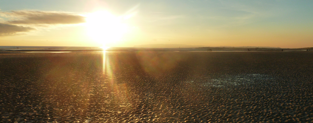 Sunset at Camber Sands