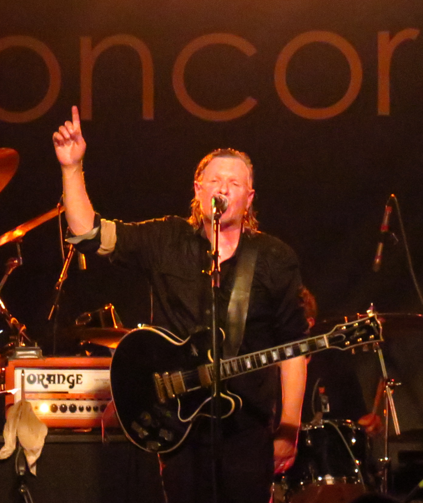 Swans live at Concorde (Pic: Al Robertson)
