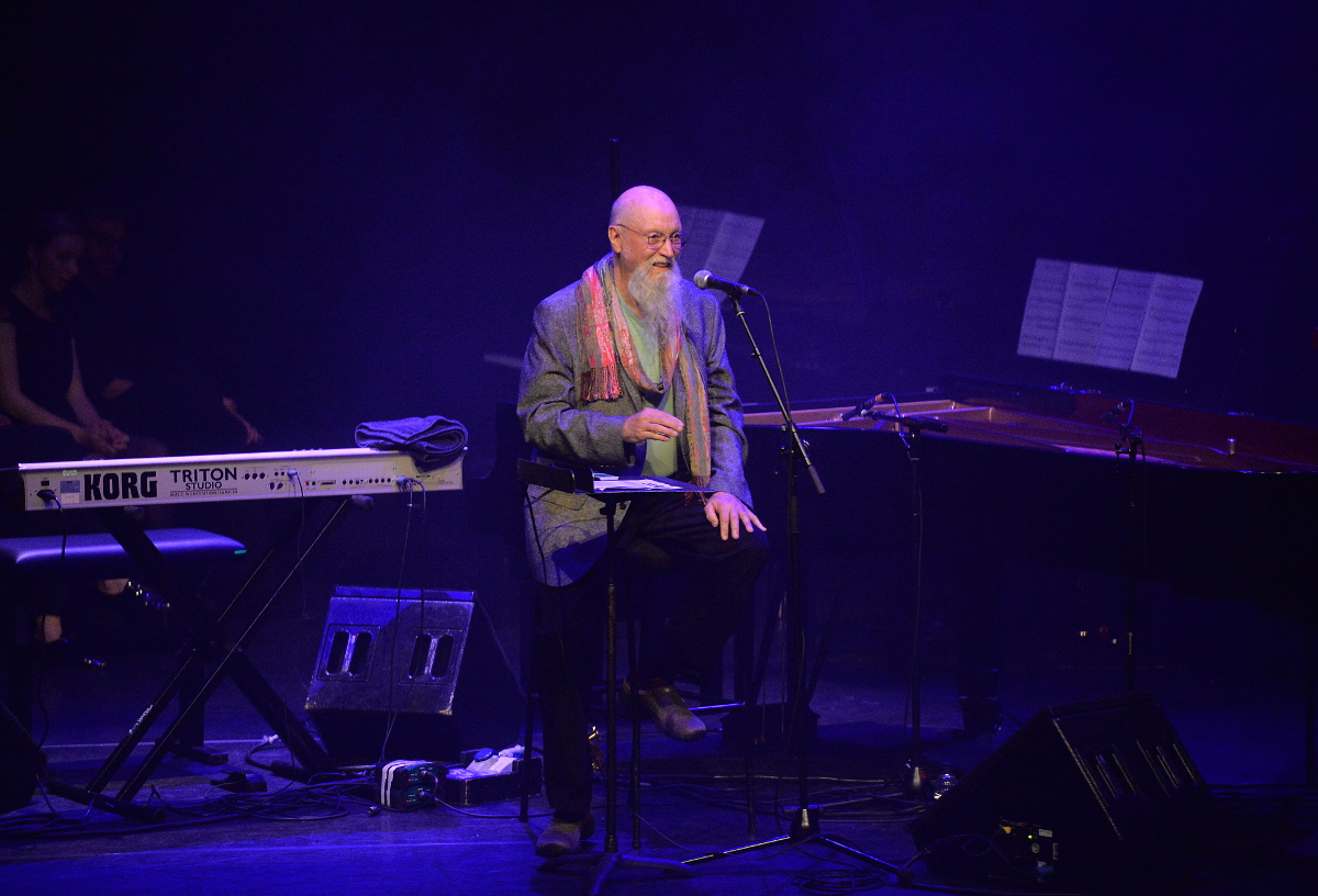 Terry Riley at Station to Station (pic: Mark Allan / Barbican)