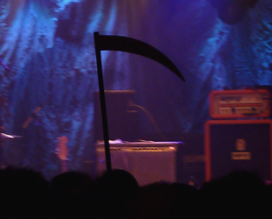 The Grim Reaper awaits Goat at ATP 2013