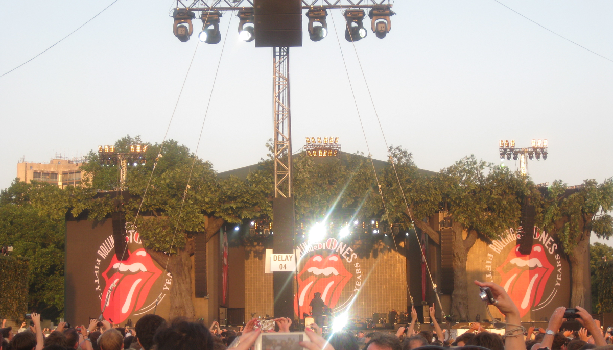 The Stones in Hyde Park 2013