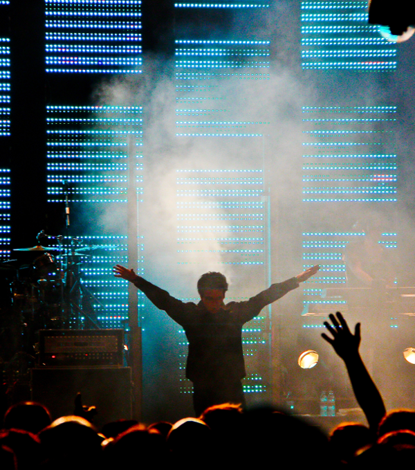 Gary Numan at Back to the Phuture